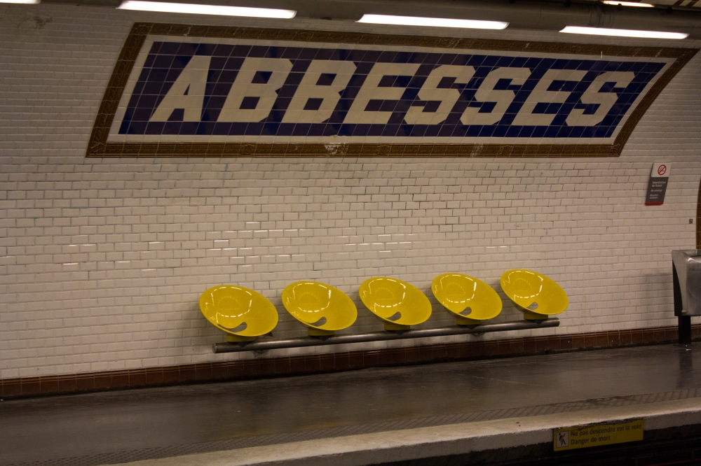 Abbesses Stop