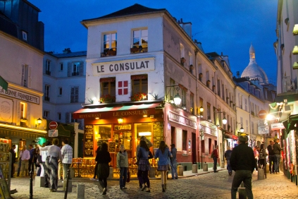 Colorful Montmartre Streets