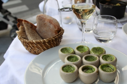 Escargot=Snails (and yummy)