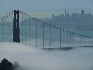 Foggy Golden Gate