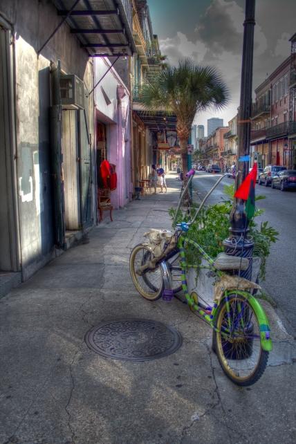 Psychedelic Bike