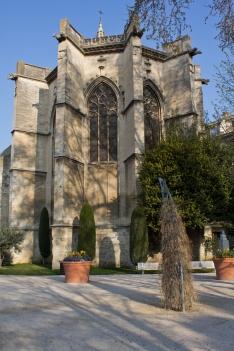 Church Courtyard