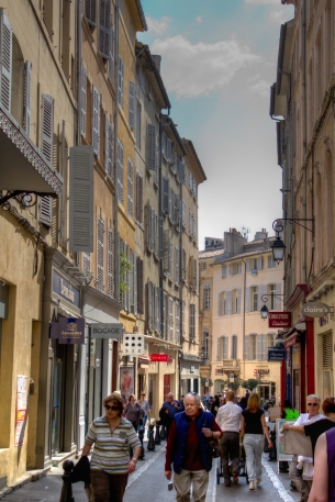 Streets of Aix
