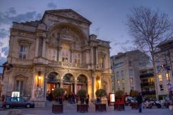 Avignon in the Evening