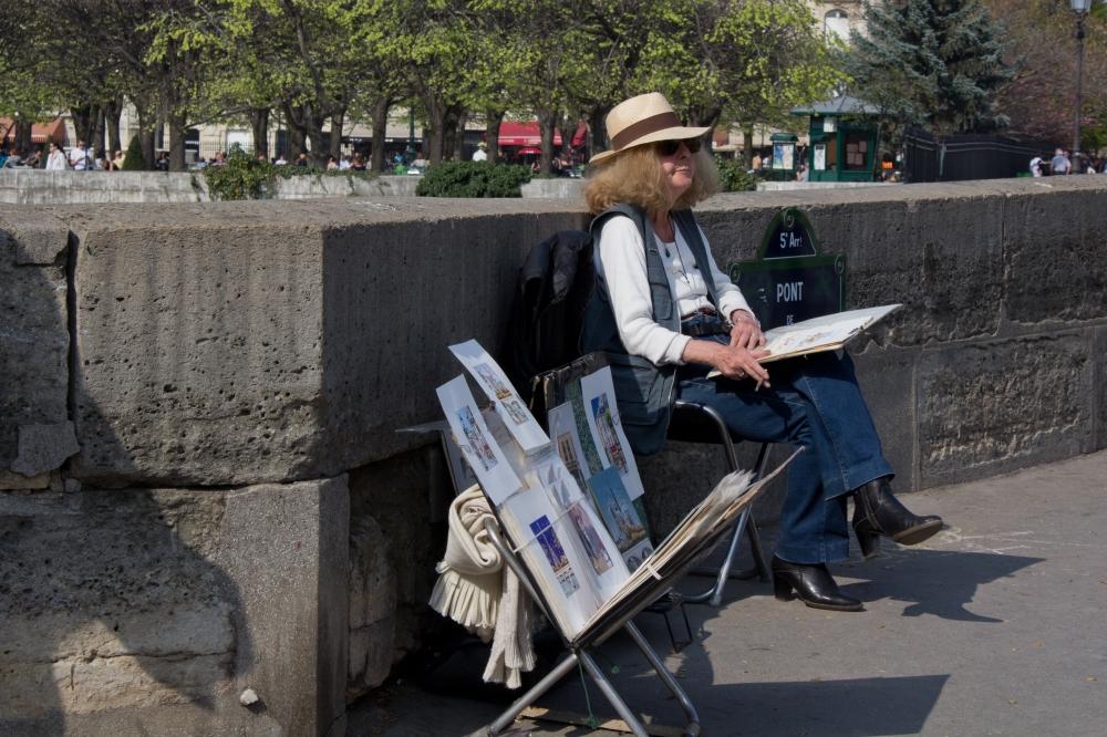 Waiting Artist