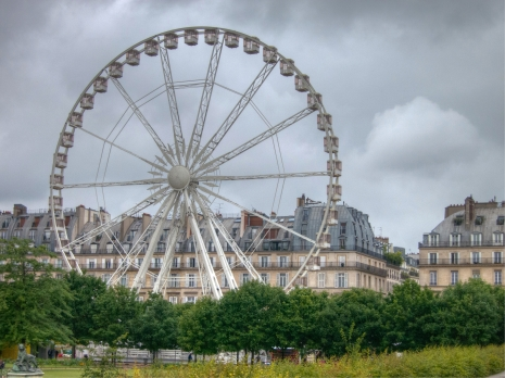 Ferris Wheel in the Tuileries