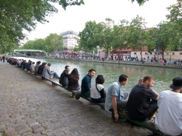 Lining the Canal