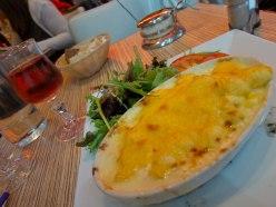 4 cheese gnocchi. Yum.