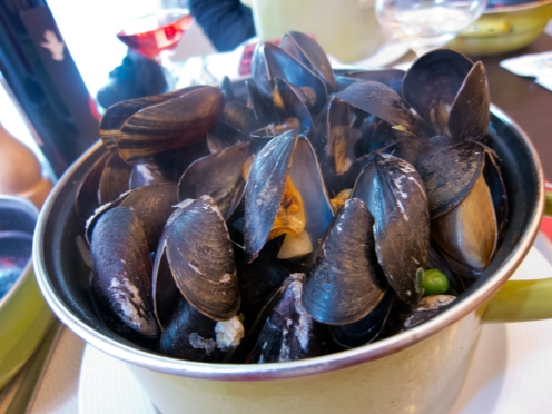 Moules=Mussels