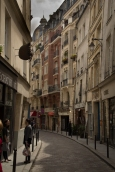 Weaving through the Latin Quarter.