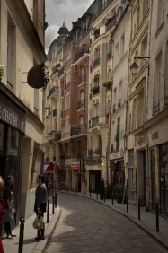 Weaving through the Latin Quarter.