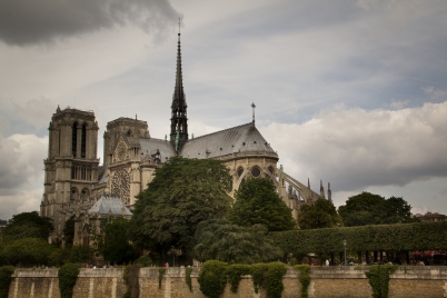 Another pre-walk photo of Notre Dame.