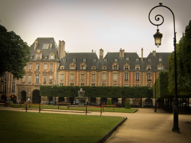 Place des Vosges in the Morning