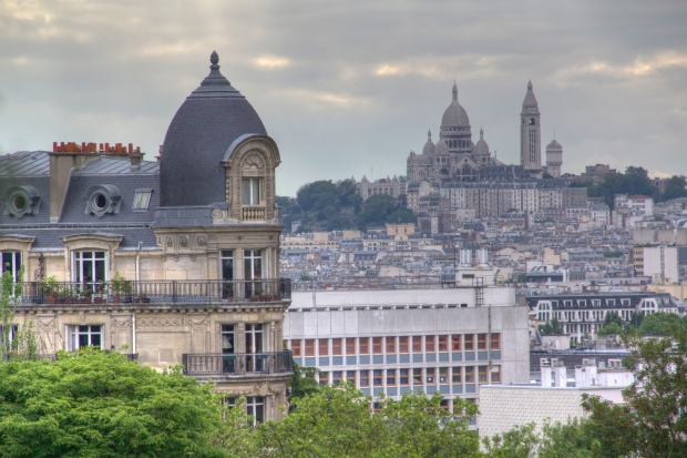 View to Sacre Coeur