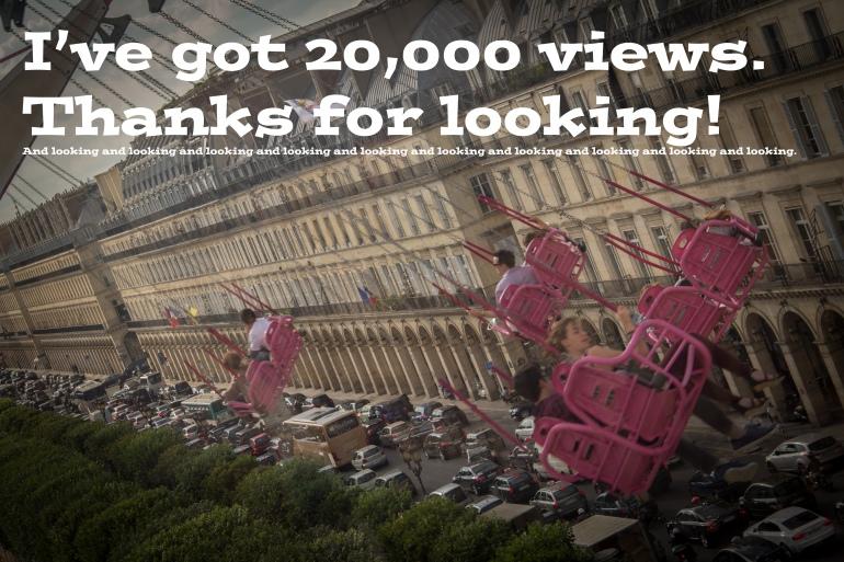 20,000 views copy