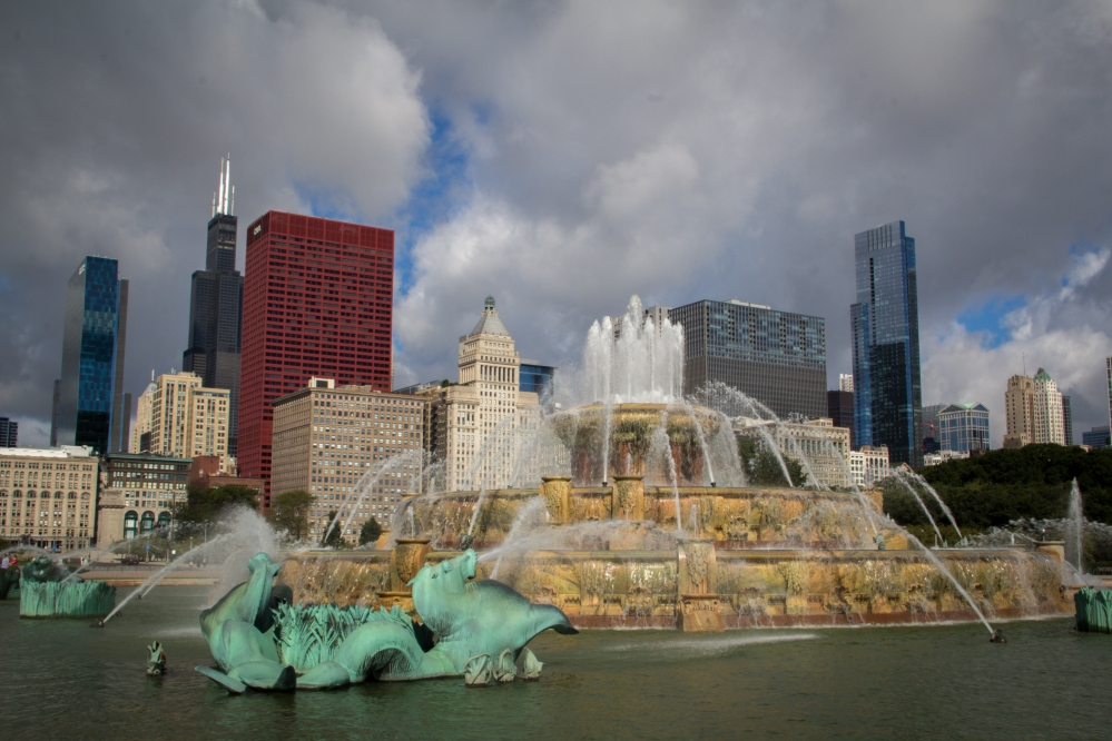 Buckingham Fountain-8806
