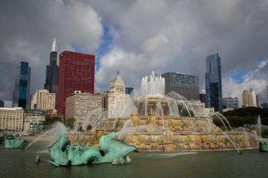 Buckingham Fountain-8806