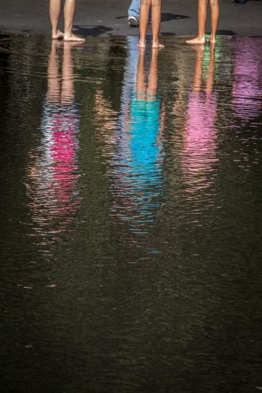 Reflections in Millenium Park